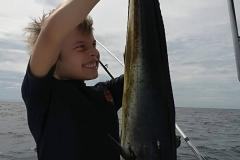 Family inshore fishing trip