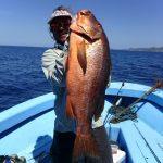 Fishing with Frank Samara Beach