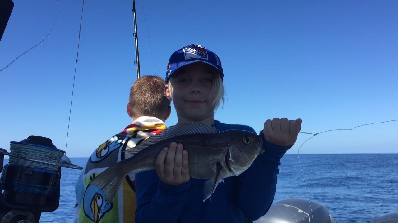 Fishing charter for families