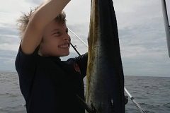 Family inshore fishing trip