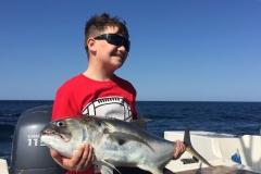 Family fishing trip Samara Beach
