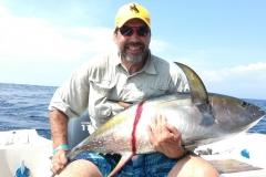Yellowfin tuna offshore Costa Rica