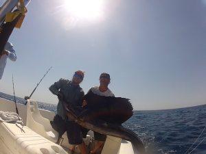 offshore fishing samara beach