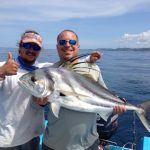 Costa Rica Roosterfish inshore