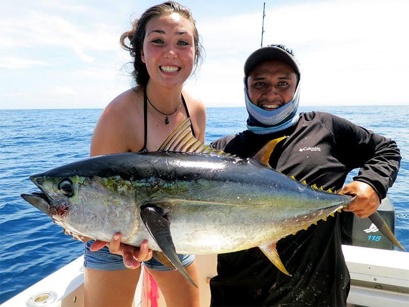 yellowfin tuna samara costa rica